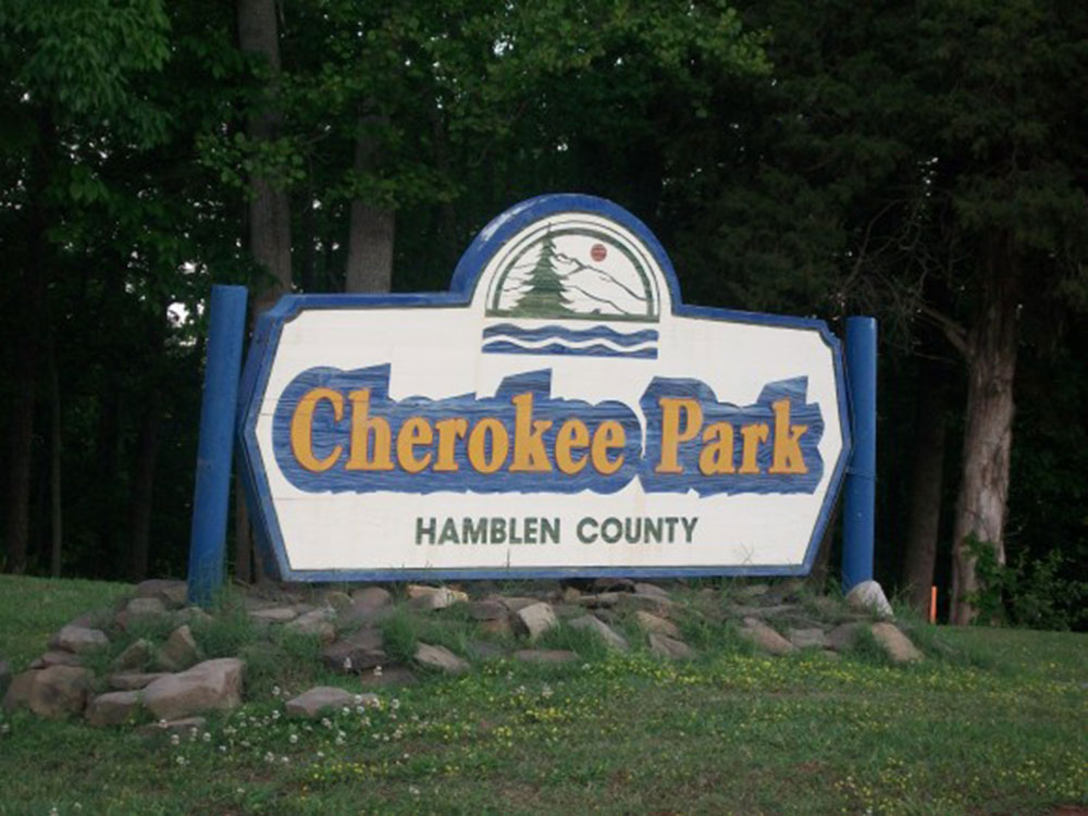 Cherokee Park Sign