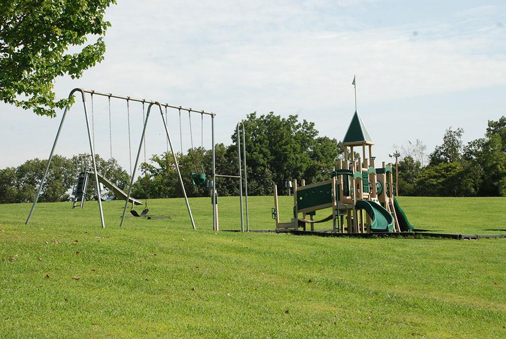 Play area at Hale Matney Pavillion