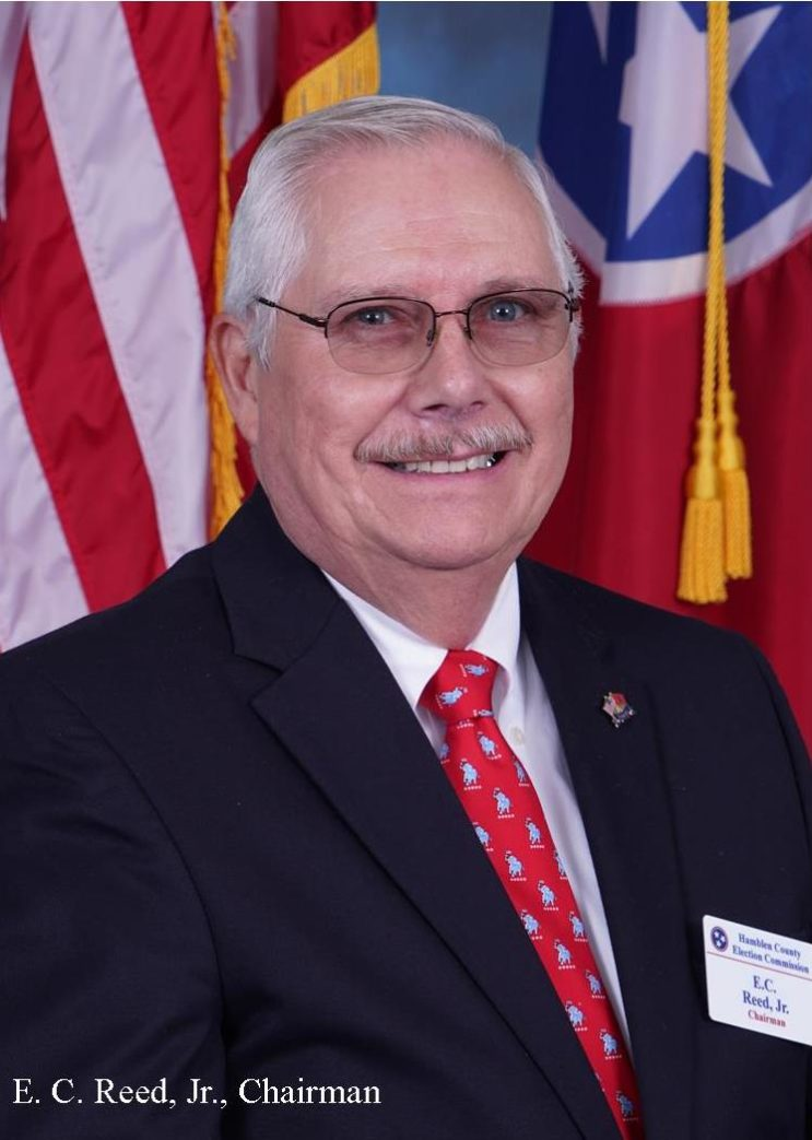 Election Commissioner E.C. Reed